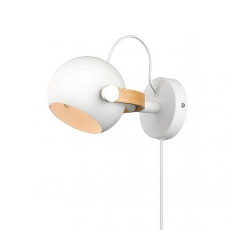 Halo Design DC væglampe Ø12 - Hvid