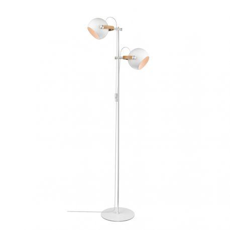 Halo Design DC gulvlampe m/2 arme - Hvid