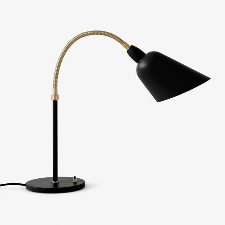 Arne Jacobsen Bellevue bordlampe AJ8 - Sort/messing