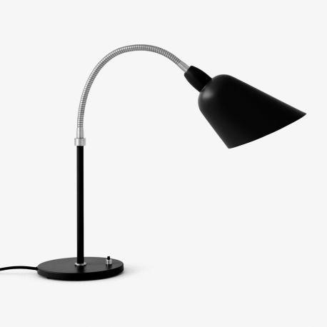 Arne Jacobsen Bellevue bordlampe AJ8 - Sort/stål