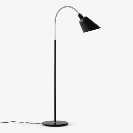 Arne Jacobsen Bellevue gulvlampe AJ7 - Sort/stål