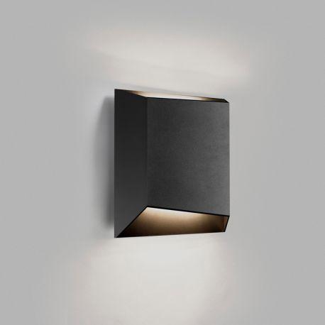 Light-Point Facet W1 væglampe - Sort