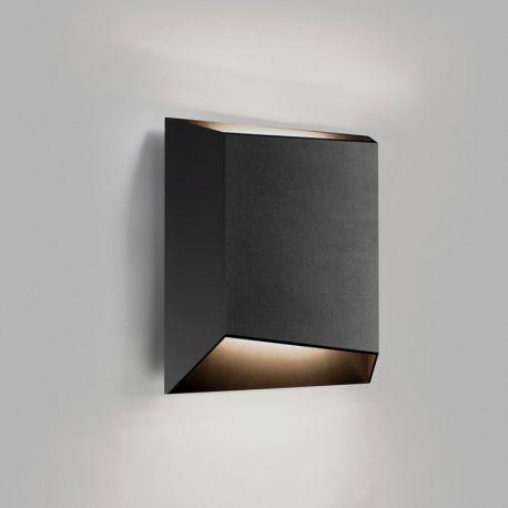 Light-Point Facet W2 væglampe - Sort