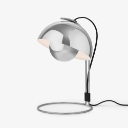 Flowerpot VP4 bordlampe - Polished Stainless Steel