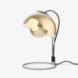 Flowerpot VP4 bordlampe - Polished Brass