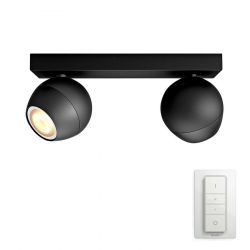 Philips Hue Buckram 2-Spot - Sort