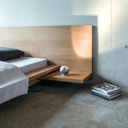 Shot bord/gulvlampe - Børstet aluminum