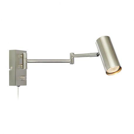 Markslöjd Torino væglampe - Krom