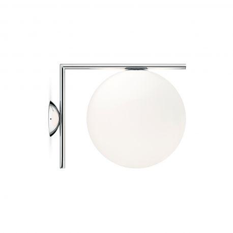 FLOS IC C/W2 væg-/loftlampe - Krom
