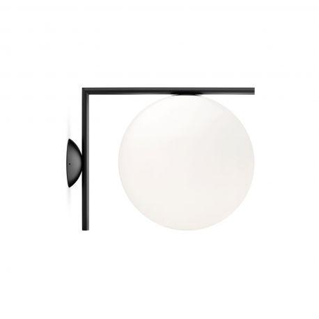 FLOS IC C/W2 væg-/loftlampe - Sort