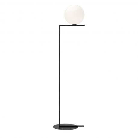 FLOS IC F2 gulvlampe - Sort