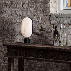 Le Klint Arc bordlampe - Sort/sort eg
