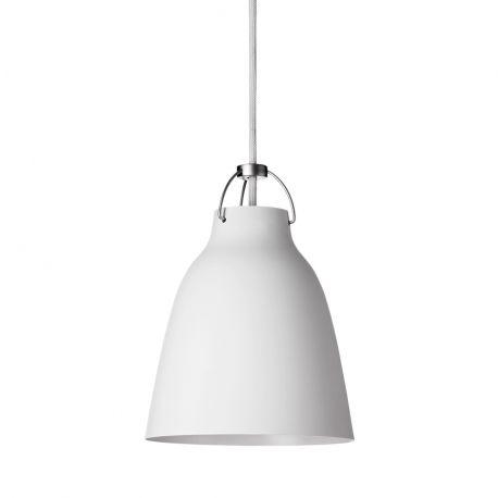 Caravaggio™ P1 pendel - Mat hvid