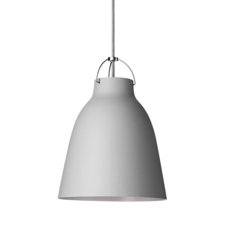 Caravaggio™ P2 pendel - Mat grå