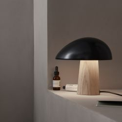 Night Owl bordlampe - Midnight blue/ash