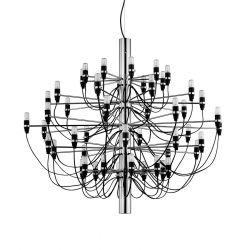 FLOS 2097/50 LED lysekrone - Krom