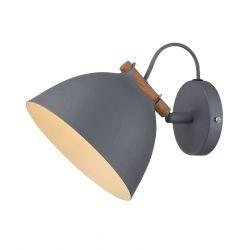 Århus væglampe - Grå