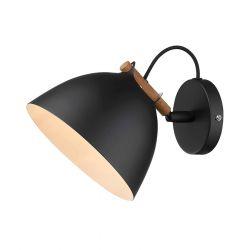 Århus væglampe - Sort