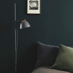 Århus gulvlampe m/1 arm - Grå