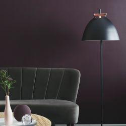 Århus gulvlampe - Sort - Ø40