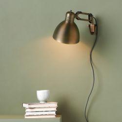 Archi W1 væglampe - Brass