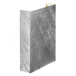 Nordlux Fold 15 LED væglampe - Galvaniseret stål