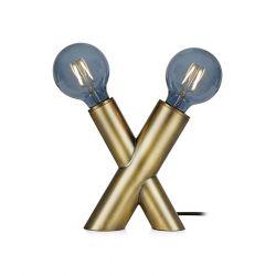 Markslöjd Simul bordlampe - Antik messing