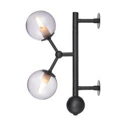 Atom væglampe - Smoke