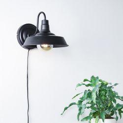 Grimsby væglampe - Sort