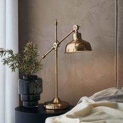 Grimstad bordlampe - Messing