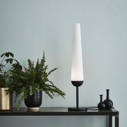 Bern bordlampe - Sort/hvid