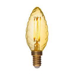 Danlamp LED Krystalkerte Gold 2,5W E14
