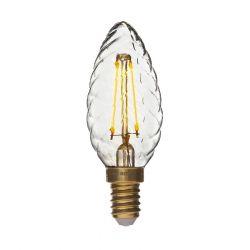 Danlamp LED Krystalkerte 1W E14