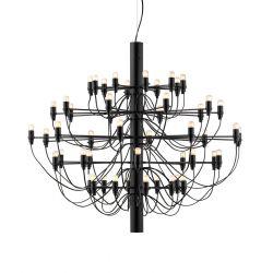 FLOS 2097/50 LED lysekrone - Sort