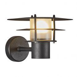 Nordlux Bastia 24 udendørs væglampe - Sort