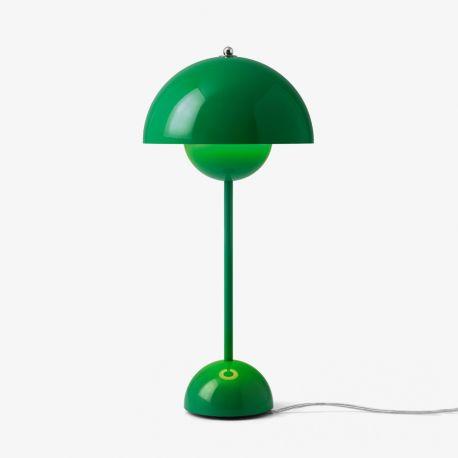 Flowerpot VP3 bordlampe - Signal Green