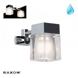 Mirror Cube væglampe - Krom