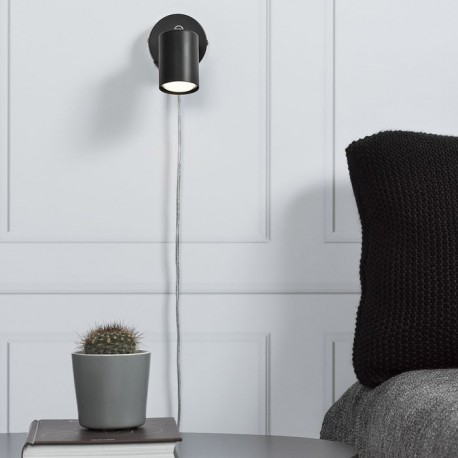 Nordlux Explore væglampe - Sort
