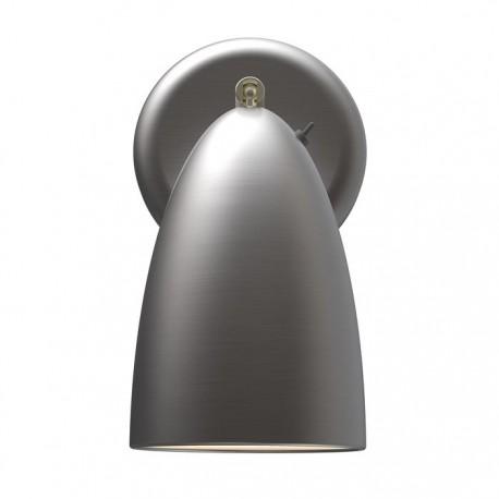 Nexus 10 væglampe - Børstet stål - Nordlux