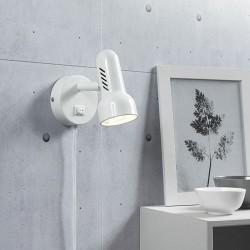 Rondo vægspot - Hvid