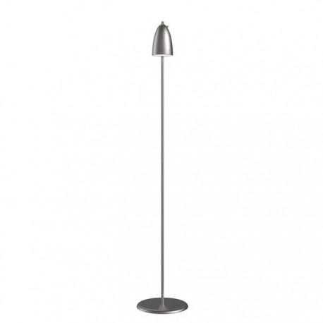 Nexus 10 gulvlampe - Børstet stål