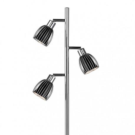 Manhattan gulvlampe m. 3 spot - Sort