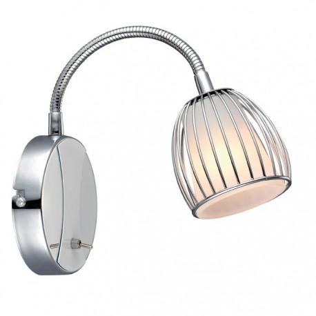 Manhattan væglampe m/flex - Opal