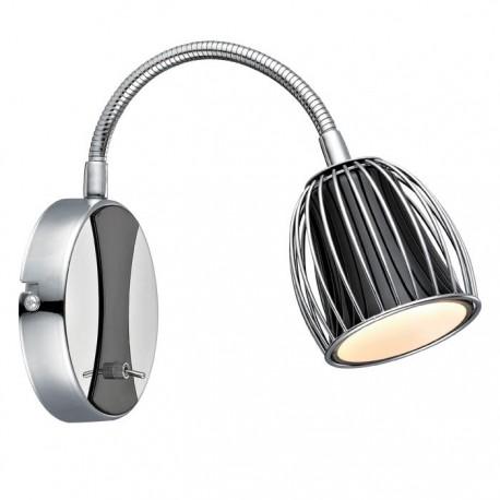 Manhattan væglampe m/flex - Sort