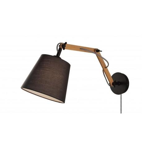 Teo væglampe - Sort