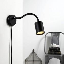 Explore flex væglampe - Sort