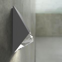 Edge 100 udendørs væglampe - Antracit