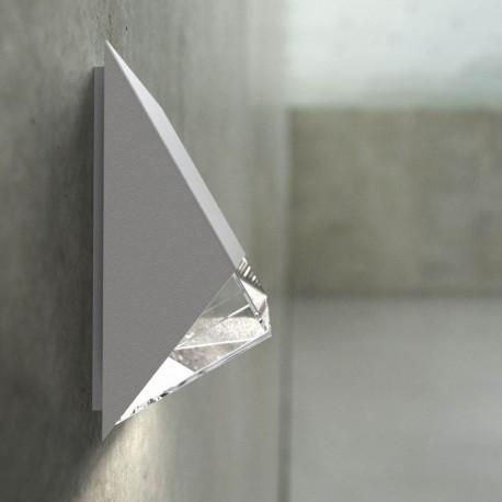 Edge 100 udendørs væglampe - Hvid