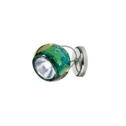 Beluga væg/loftslampe med kabeludgang - Grøn