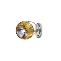 Beluga væg/loftslampe med kabeludgang - Gul